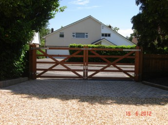 Wooden Gates, Simon Clark Fencing